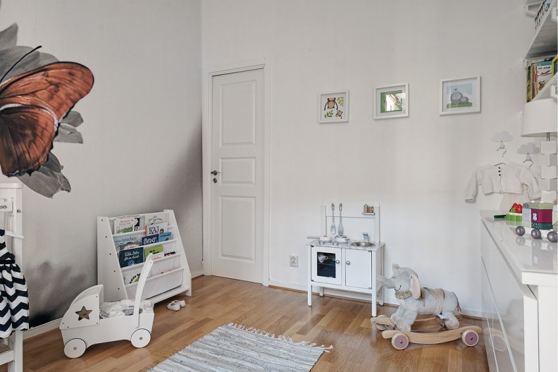8 secrets of the use of white color in the interior of the child